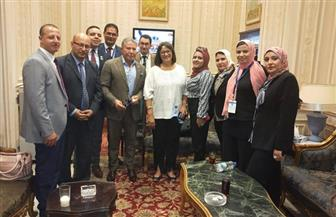 "شباب ""المحافظين"" يزور مجلس النواب| صور"