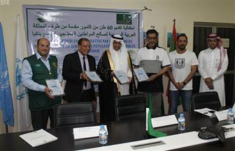 مركز الملك سلمان للإغاثة يقدم العلاج لأكثر من 16 ألف لاجئ بالأردن | صور