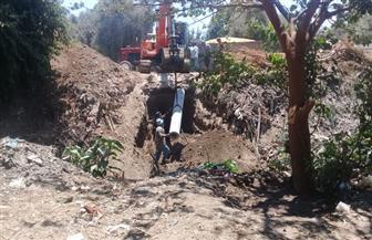 بدء أعمال إحلال وتجديد خطوط الصرف الزراعي في الفيوم | صور