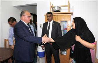 محافظ القاهرة يتابع تسكين أسر روضة السيدة زينب | صور