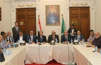 """""""أبو شقة"""" خلال اجتماع  مشترك لنواب وقيادات الوفد: لن نسمح بالفوضى.. وأي مزايدات لن تمر إلا بمواجهة حاسمة"""