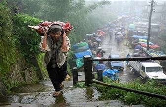 الهند تشهد هطول أمطار موسمية أعلى من المعدل الطبيعي