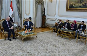 العصار يبحث مع سفير إسبانيا سبل تعزيز التعاون المشترك