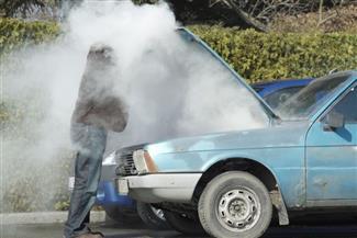تحذيرات لتجنب انفجار السيارة في درجات الحرارة المرتفعة