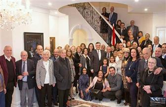 حفل استقبال لأحد أبناء الجالية المصرية لحصوله على ميدالية وسام أستراليا | صور