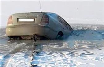 مقتل عشرة بينهم ستة أطفال بعد غرق سيارة في نهر بروسيا