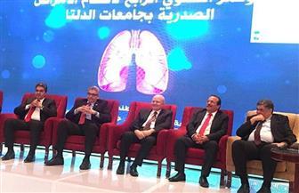 رئيس جامعة طنطا يفتتح المؤتمر الرابع لأقسام الصدر بجامعات الدلتا | صور
