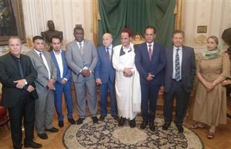 وفد البرلمان الليبي يزور متحف مجلس النواب |صور