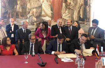 توقيع اتفاقية تآخ بين الإسكندرية ومدينة كاتانيا بجزيرة صقلية الإيطالية |صور