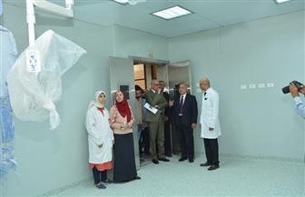 رئيس جامعة أسيوط يشيد بالمنظومة الطبية في مستشفى الأسنان الجامعي|صور