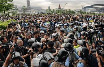 مواجهات في هونج كونج خلال تظاهرة جديدة مناهضة للحكومة