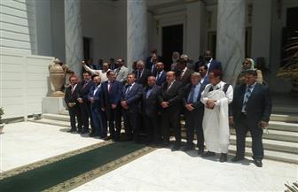 """وفد البرلمان الليبي يشكر القيادة المصرية: """"جهودكم محل تقدير دائم"""""""