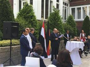 مشاركة رسمية من الولايات الشمالية الألمانية بحفل ذكرى 23 يوليو بهامبورج| صور