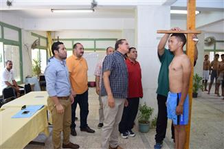 جامعة سوهاج تواصل اختبارات قدرات التربية الرياضية لطلاب الثانوية العامة |صور