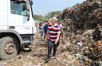 محافظ المنوفية يتابع أعمال نقل القمامة من مقلب بركة السبع العمومي