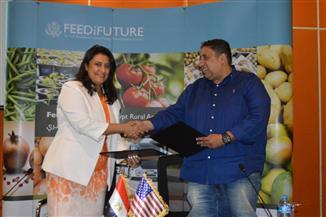 الوكالة الأمريكية للتنمية الدولية توقع اتفاقية و3 مذكرات تفاهم ضمن مشروع الغذاء للمستقبل
