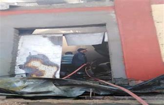 محافظ البحر الأحمر يشكل لجنة لمعرفة أسباب حريق مجزر الشلاتين وتقدير الخسائر  صور