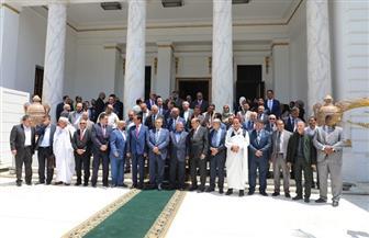 البيان الختامي لوفد البرلمان الليبي يؤكد وحدة ليبيا وسيادتها على كامل أراضيها