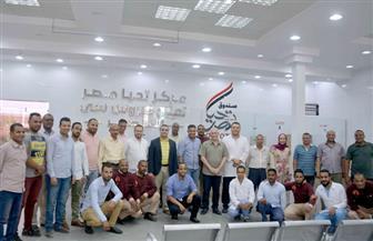"محافظ الأقصر يزور مركز صندوق تحيا مصر لعلاج ""فيروس سي""| فيديو وصور"
