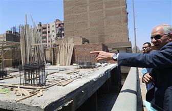 مجازاة المقصرين في أعمال النظافة بعدد من مناطق الجيزة   صور