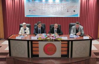 افتتاح فعاليات اليوم العالمي لارتفاع ضغط الدم والتهاب الكبد الفيروسي بجامعة طنطا | صور