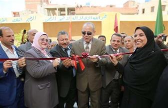 محافظ كفر الشيخ يفتتح مدرسة الأمل الإعدادية الثانوية الجديدة بالعاقولة | صور