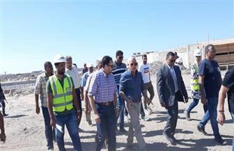 محافظ بورسعيد يتفقد أحدث المشروعات السياحية