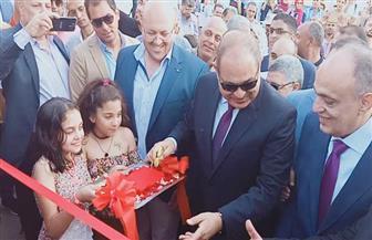 """محافظ الغربية يفتتح شارع 306 بطنطا.. و""""السعيد"""": يوفر فرص عمل للشباب"""
