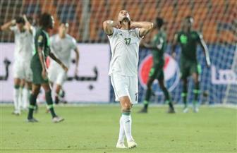 نيجيريا تحرز هدف التعادل أمام الجزائر من ضربة جزاء بنصف نهائي أمم إفريقيا