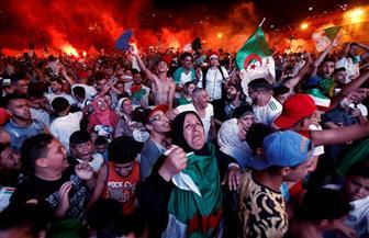 احتفالات الشعب الجزائري بصعود منتخب بلاده إلى نهائي أمم إفريقيا| صور