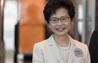 زعيمة هونج كونج: لا خطط لاستخدام صلاحيات الطوارئ