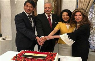 السفارة المصرية في اليابان تحتفل بذكرى ثورة 23 يوليو المجيدة |صور