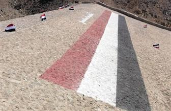 محافظ البحر الأحمر يفتتح عددا من سدود الحماية بقرية الشيخ الشاذلي بمرسى علم