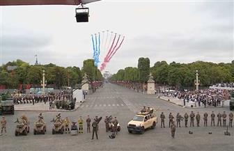 حفل رجال الإطفاء الراقص خلال العيد الوطني الفرنسي | فيديو