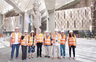 المتحف المصري الكبير يستقبل وفدا من مجلس النواب الروسي | صور