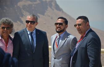 رؤساء وممثلو الكيانات المصرية بالخارج يتفقدون جامعة ومنتجع الجلالة والفندق الساحلي | صور