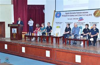 مصر تنظم أربع دورات دولية في دراسات تدريب فروع الجمباز | صور