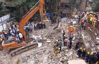 مقتل 7 أشخاص واحتجاز 40 شخصا إثر انهيار مبنى في مومباي