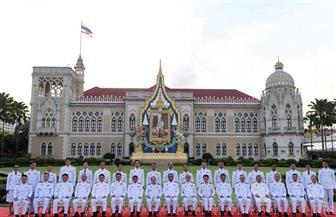 الحكومة التايلاندية تؤدى اليمين الدستورية أمام الملك   صور
