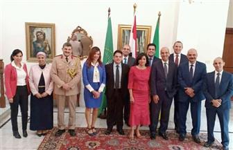 السفير أسامة عبد الخالق يتحدث عن أطر تقوية العلاقات المصرية الإثيوبية فى احتفالية 23 يوليو |صور