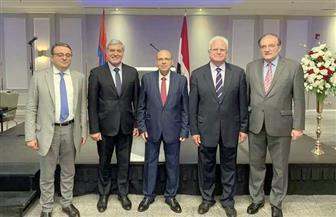 السفارة المصرية في أرمينيا تحتفل بذكرى ثورة 23 يوليو المجيدة| صور