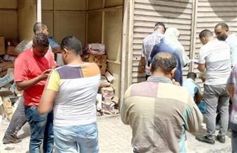 غلق 36 باكية بعامود السواري في الإسكندرية |صور