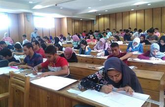 إقبال كبيرعلى اختبارات القدرات بكليات جامعة الإسكندرية |صور