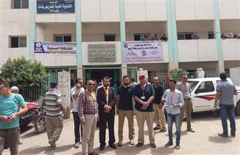 قافلة جامعة المنصورة المتكاملة تبدأ أعمالها  بقرية غزالة ضمن مبادرة الرئيس | صور