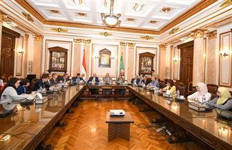 رئيس جامعة القاهرة يلتقي وفدا روسيا لبحث مجالات التعاون الأكاديمي  صور