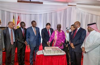 السفارة المصرية في أوغندا تحيي ذكرى ثورة 23 يوليو   صور