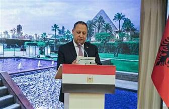 السفير المصري في ألبانيا يقيم حفل استقبال بمناسبة ذكرى 23 يوليو بحضور الرئيس الألبانى| صور