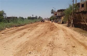 محافظ سوهاج يوجه بالانتهاء من مشروعات رصف الطرق في المواعيد المحددة  صور