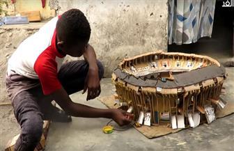 صبي في الـ14 يبني نماذج مصغرة لأهم ملاعب العالم | فيديو