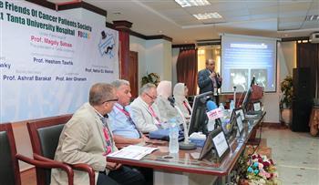 افتتاح المؤتمر الأول لجمعية أصدقاء مرضى الأورام بمستشفيات جامعة طنطا | صور